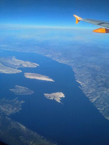 Let iznad kvarnerskih otoka (foto: Joso Gracin Joka/Nina Živković)