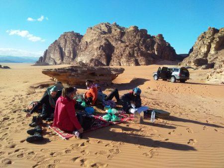 Piknik u pustinji (foto: Joso Gracin Joka/Nina Živković)