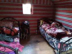 Unutrašnjost dvokrevetnih šatora u Beduland-(foto: Joso Gracin Joka/Nina Živković)