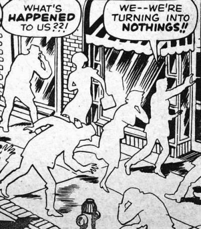 Ilustracija (isječak iz stripa kojemu, na žalost, ne znamo autora)