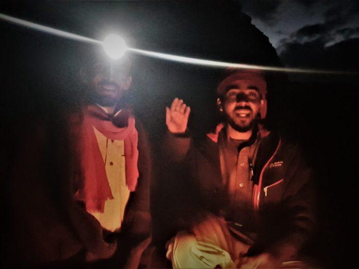 Sultan i Audi -pozdrav u noći (foto TRIS/G. ŠIMAC)