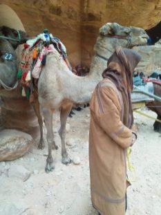 Beduin i deva ispred Kraljevske Riznice (foto Joso Gracin Joka)