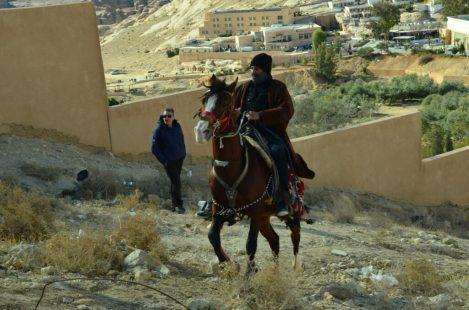 Beduin na arapskom konju u Wadi (foto Joso Gracin Joka)
