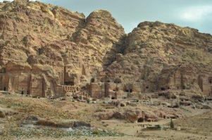 Pogled na kraljevske grobnice iz doline (foto Joso Gracin Joka)