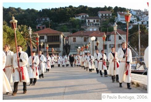 Hvarska procesija (foto Facebook Ministarstvo kulture/Paolo Bunčuga)