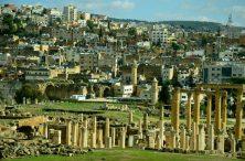 Antička Gerasa i moderni Jerash u pozadini(foto J. Gracin)