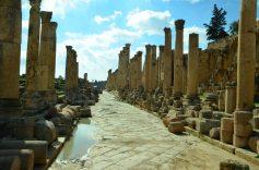 Gerasa je teško stradala u katastrofalnom potresu 749.godine (foto J. Gracin)