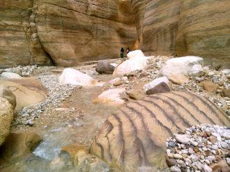 Kretanje kroz Wadi Numeiru (foto J. Gracin)