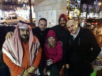 Luca i četiri vesela Jordanca na ulici Ammana(foto N. Živković)