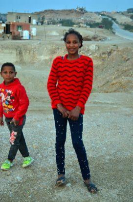 Mali Palestinci, Hasan i njegova sestra (foto J. Gracin)