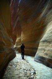 Nina u ljepoti Wadi Numeire (foto J. Gracin)