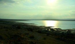 Pogled na južni dio Mrtvog mora (foto J. Gracin)