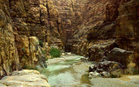 Pogled u Wadi Mujib (foto J. Gracin)