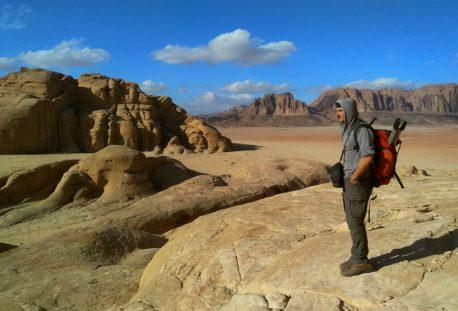 Skitanje kamenom pustinjom(foto Nina Živković )