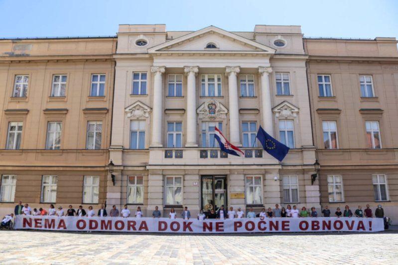 Novi političari: Koalicija Možemo! pokreće peticiju kako novi zastupnici ne bi zbrisali na odmor dok ne usvoje Zakon o obnovi Zagreba