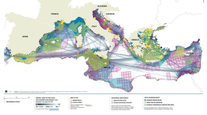 Obratite pažnju na Jadransko more: gotovo čitavo je eksploatirano potencijalnim naftnim poljima, ribolovnim zonama itd...