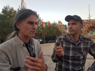Ilko Čulić na Seasplashu razgovara s Trisom (foto Tris/G. Šimac)