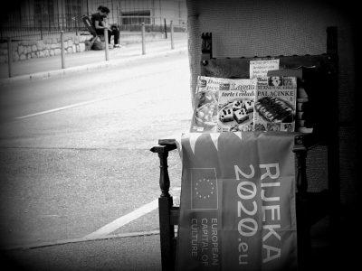 Ostaci EPK na ulicama Rijeke (foto TRIS/G. Šimac)