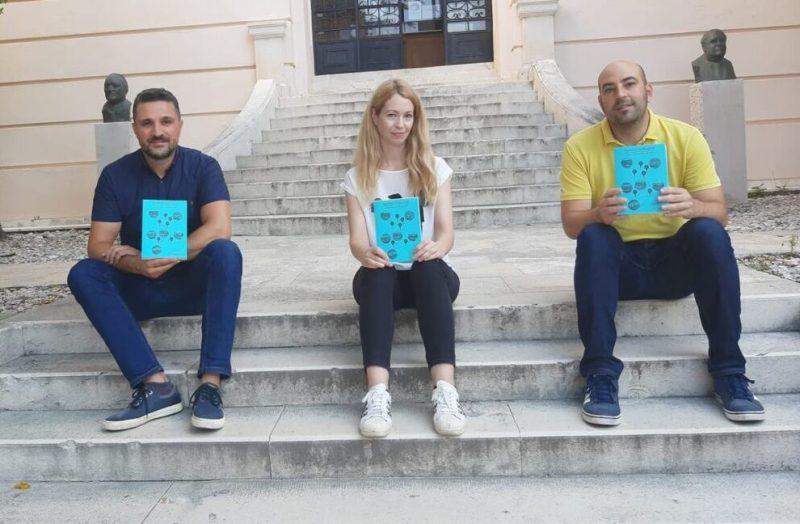 Autori knjige:  Krešimir Krolo, Željka Tonković i Sven Marcelić - foto Facebook)