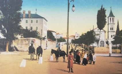 Javna rasvjeta u SIbeniku krajem 19. st.