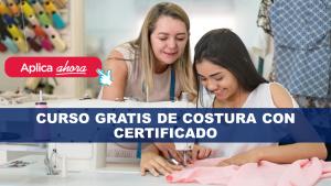 Curso Gratis de Costura con certificado