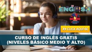 Curso de Inglés GRATIS – (Niveles Básico Medio y Alto)