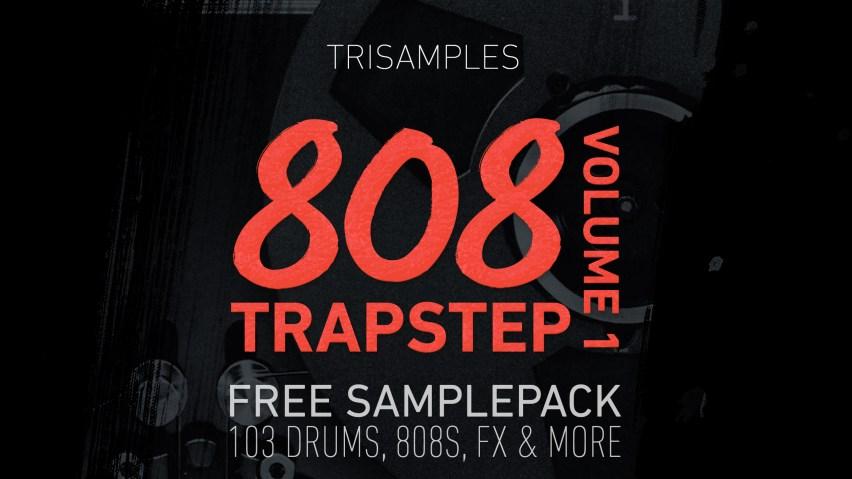Free Trap Sample Pack Volume 2 TriSamples.com Artwork