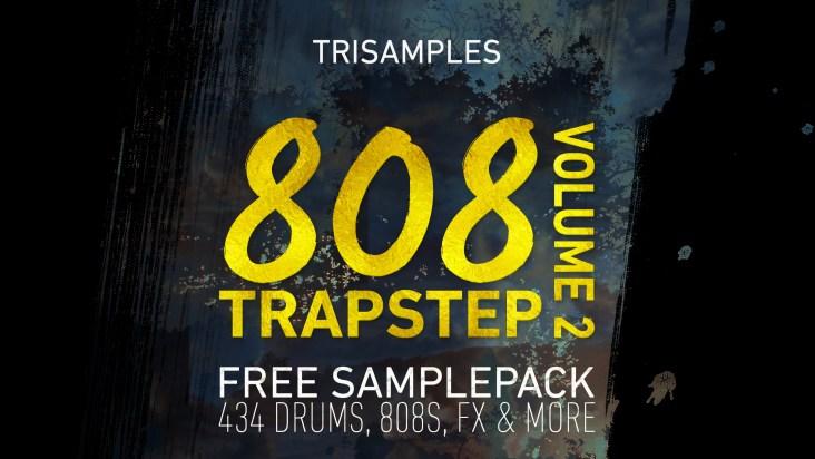 TriSamples - 808 Trapstep Pack Vol 2 Artwork trap