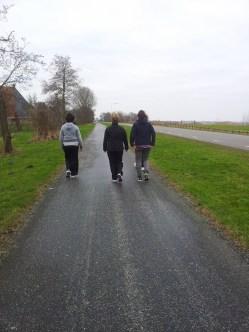 hardlopen afwisselen met wandelen