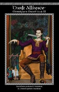 Dark Alliance: Morrigan's Brood Book III front cover, drawn by Khanada Taylor