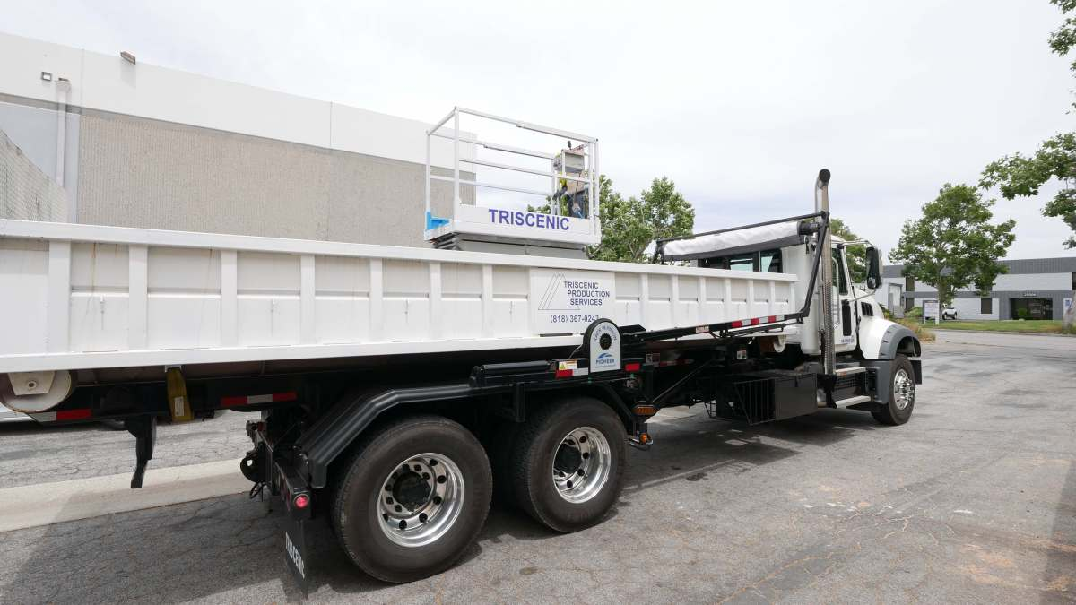 Triscenic 10 Yard Container Delivery