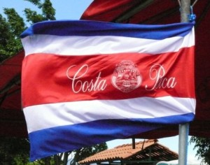 Costa Rican National Flag