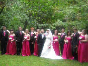 L's wedding.