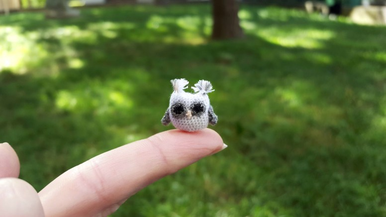 Micro-Crocheting for Beginners - micro-crochet amigurumi owl