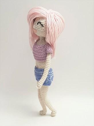 Free Crochet Doll Patterns Crochet Dolls Trishagurumi