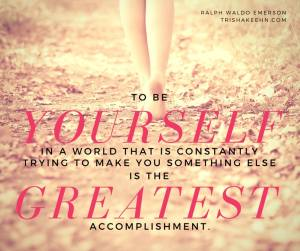 be yourself, ralph waldo emerson