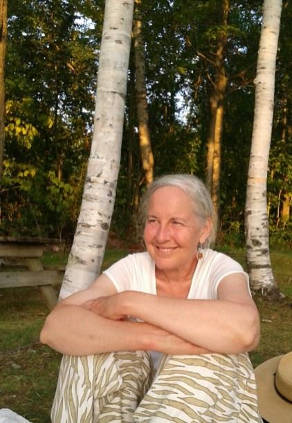 Trisha among the trees