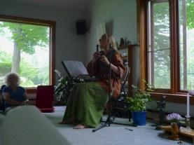 Trisha during a Sing workshop