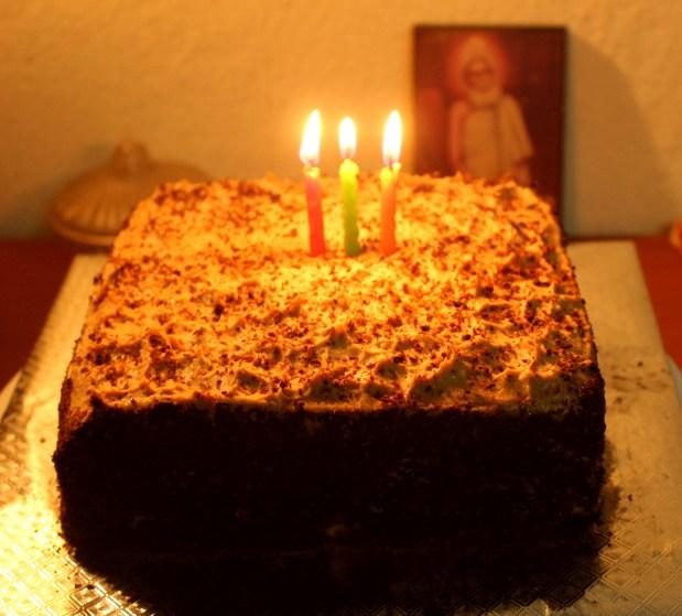 The cake :)