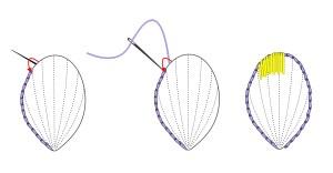 split stitch outline