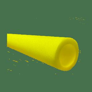 yellow circular foam
