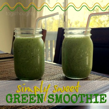 A Simply Sweet Green Smoothie made with Pineapple, Banana & Chia Seeds. And a Smoothie Blending Guide!