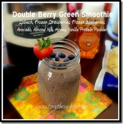 Double Berry Green Smoothie - DS