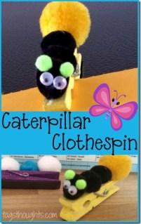 CaterpillarClothespin
