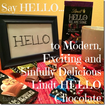 A Sweet HELLO; Lindt Chocolate Review & Giveaway