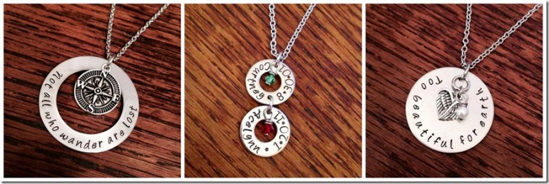 Metal Stampin' Mama Necklace Giveaway