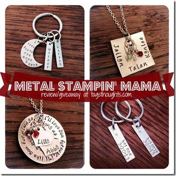 Metal Stampin Mama Reivew Giveaway
