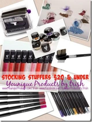 Younique by Trish Stocking Stuffers under $20 trishsutton.com