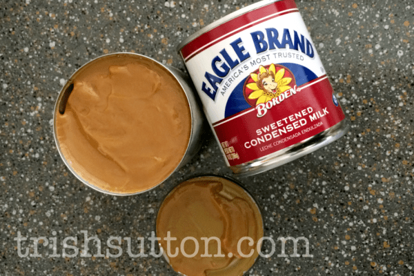 make your own carmel sauce with sweetened condensed milk