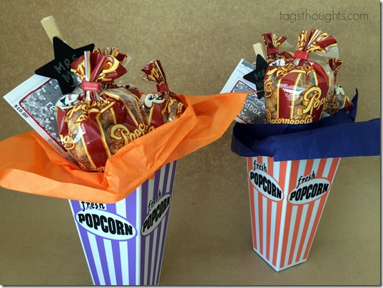 Make it a Movie Night Gift Basket by trishsutton.com